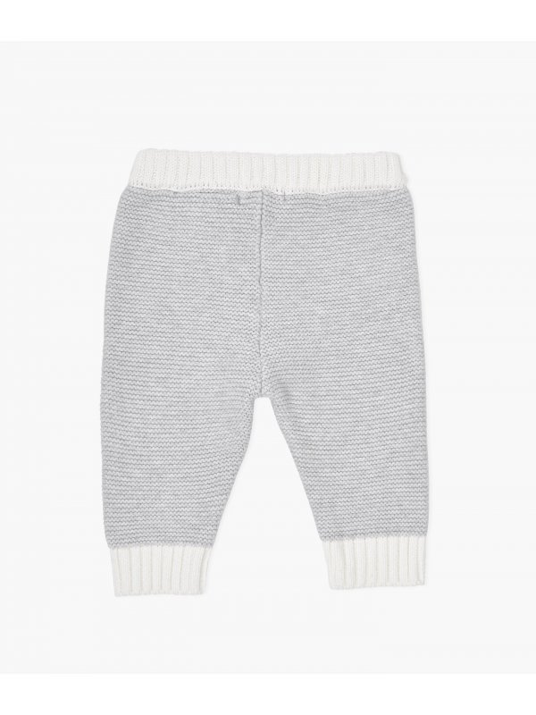 Штаны Knit Pants Grey / Ivory