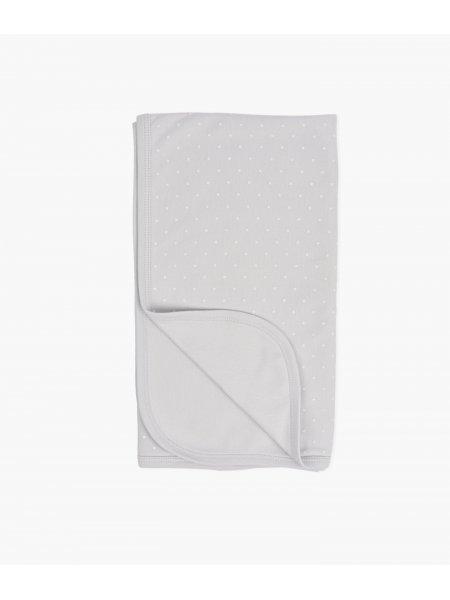Одеяло Saturday Blanket Gray / White Dots