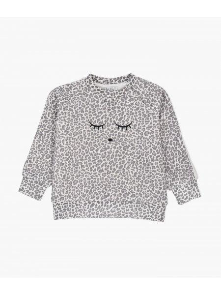 Свитшот Varsity Sweatshirt Leopard / Sand