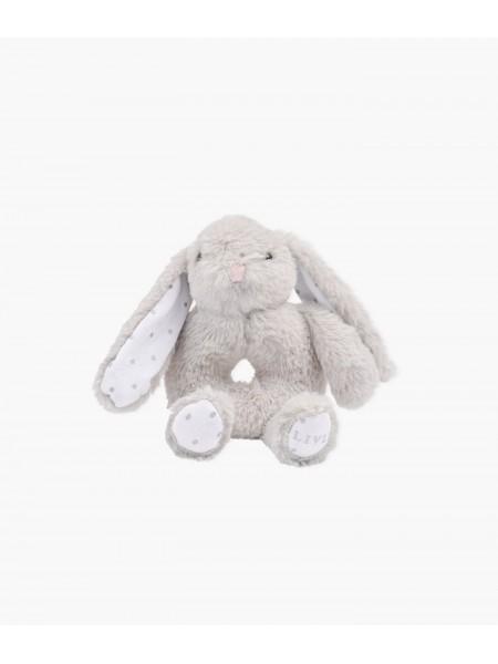 Игрушка Bunny Marley Rattle Grey