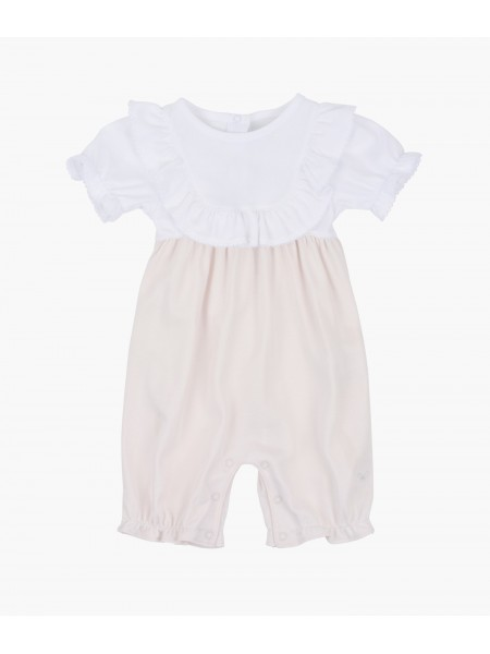 Комбинезон Edith Jumpsuit White / Light Pink