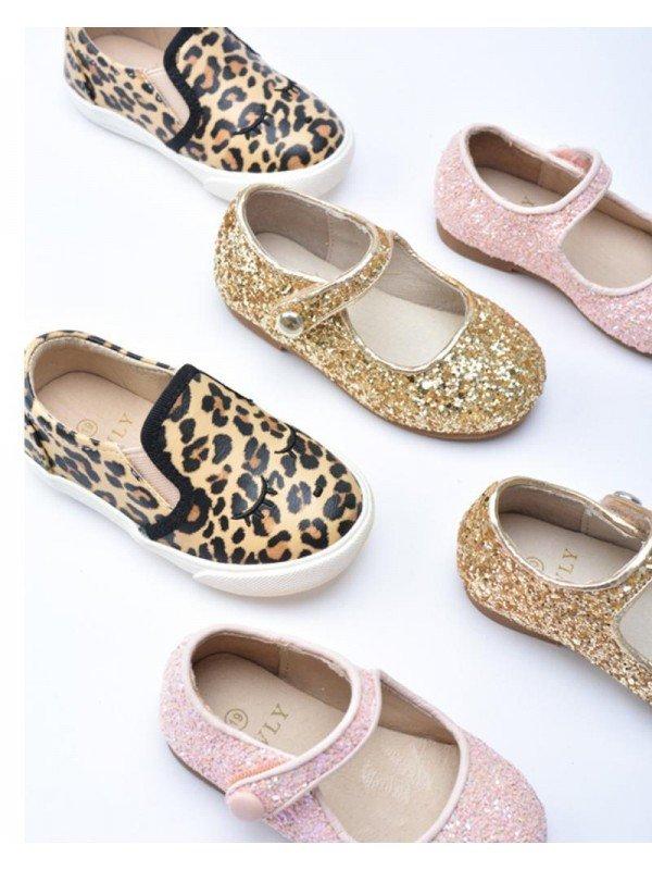 Туфли Mary Jane Shoes Light Pink Glitter