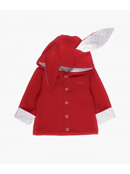 Кардиган Bunny Cardigan Wine Red Jacquard