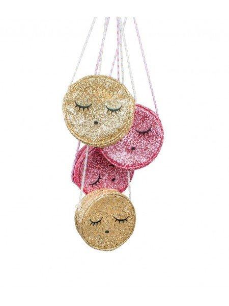 Сумка Sleeping Cutie Bag Gold Glitter