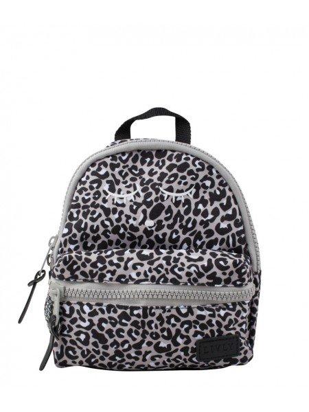 Рюкзак Mini Backpack Leopard / Light grey
