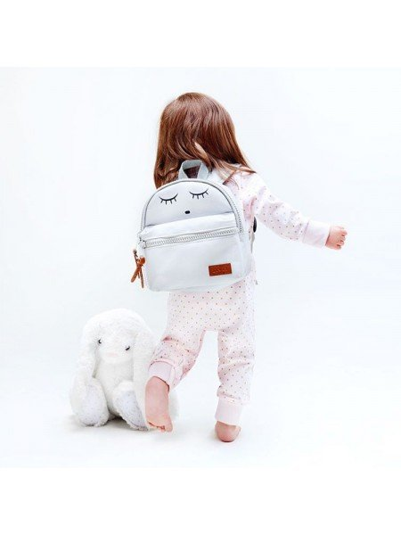 Рюкзак Mini Backpack Grey / Sleeping Cutie