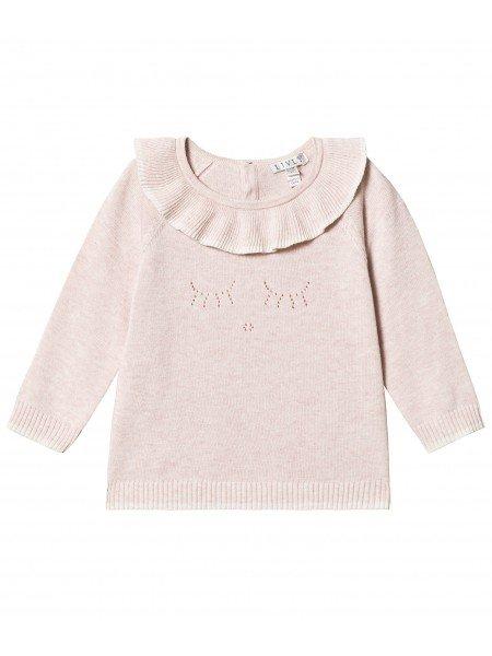 Кардиган Sleeping Cutie Ruffled Knit Cardigan Pink