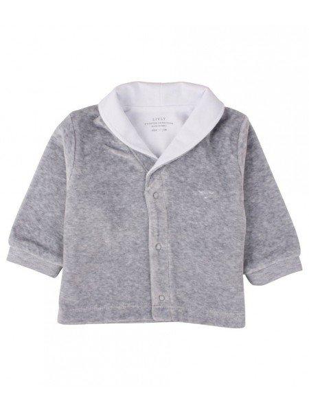 Кардиган Varsity Cardigan Grey Plush