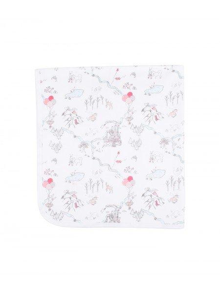 Одеяло Princess Land Pink Blanket Pink