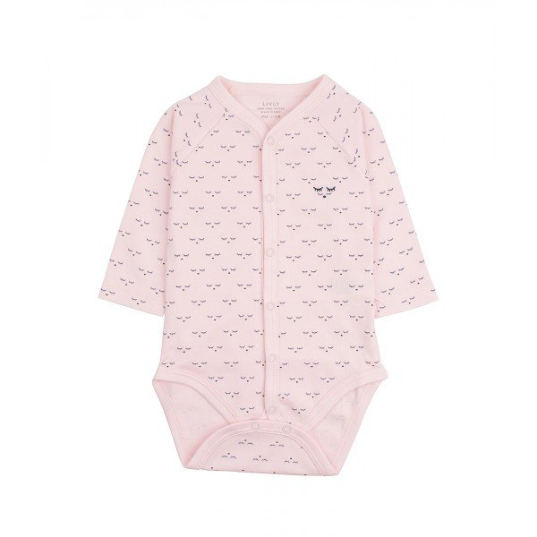 Боди Mini SC Full Snap Body Pink