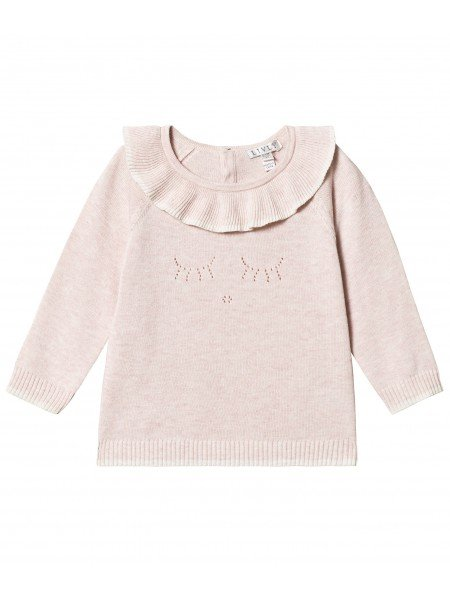 Кардиган Sleeping Cutie Ruffled Knit Cardigan Pink