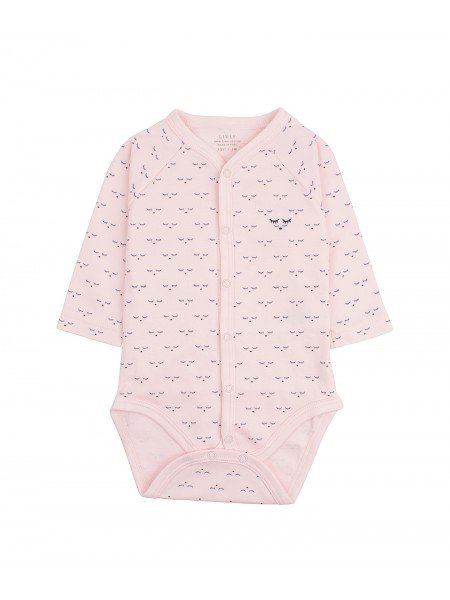Боди Mini SC Full Snap Body Pink
