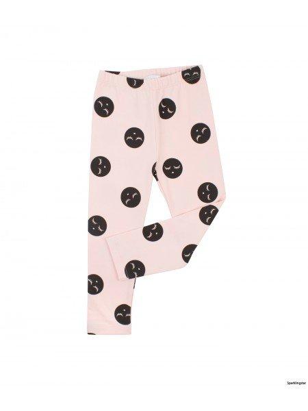 Леггинсы Sleeping Cutie Polkadots Leggings Pink