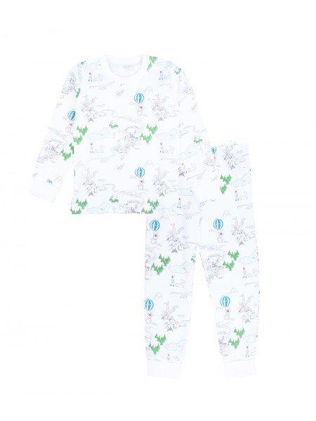 Пижама Prince Land 2 Piece PJ Blue