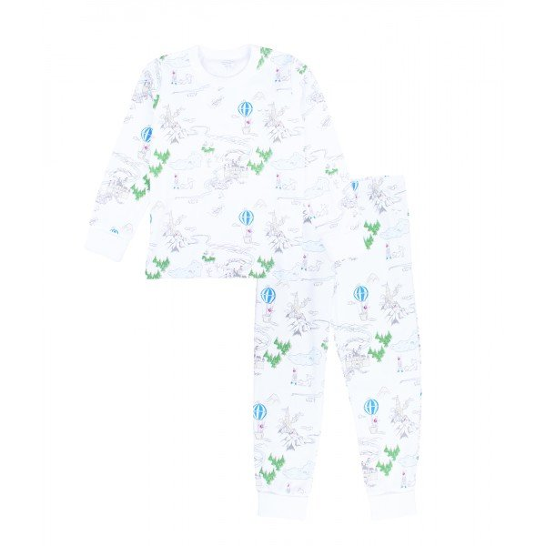 Пижама Prince Land 2 Piece PJ Blue