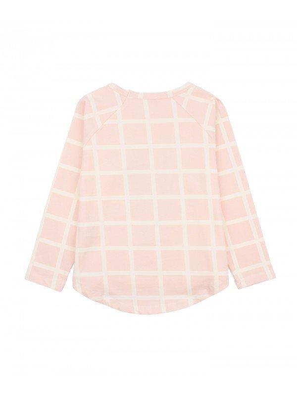 Рубашка Ivory Squares Long Sleeve Shirt Rose