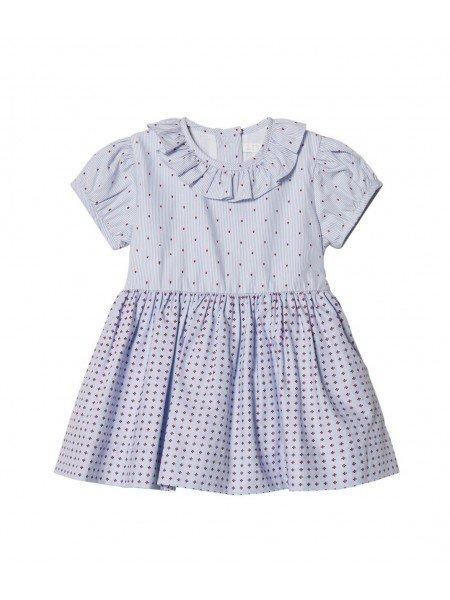 Платье Rosie Dress Blue Blocks