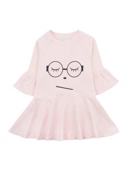 Платье Sleeping Cutie Glasses Ella Dress Pink