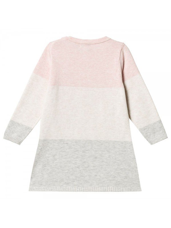 Туника Knit Tunic Pink / Cream / Grey