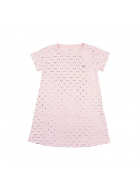 Ночная рубашка Mini Sleeping Cutie Nightgown Pink