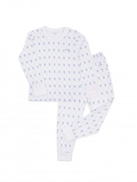 Пижама Diamond Ribbon Bunny 2 Piece Set Blue