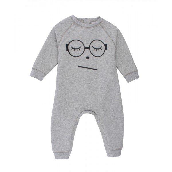 Комбинезон Sleeping Cutie Glasses One Piece Grey