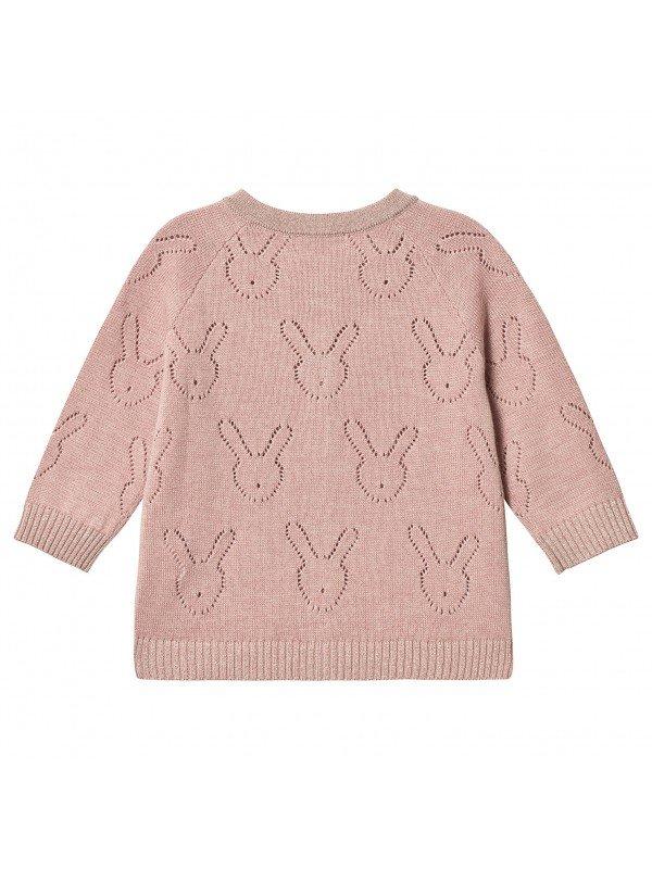 Кардиган Bunny Knit Cardigan (Round neck) Mauve