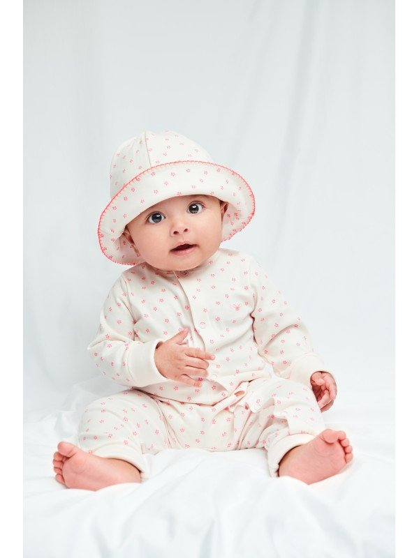 Шапка Sun Hat Florals Pink