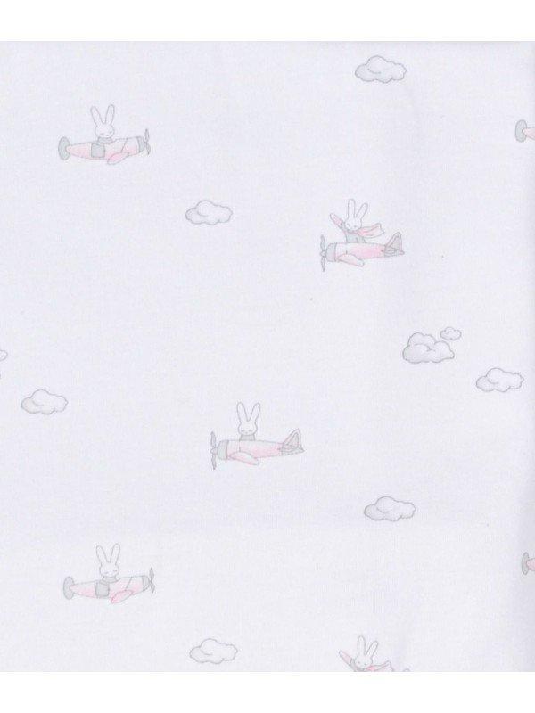 Одеяло Bunny Airplane Blanket Pink