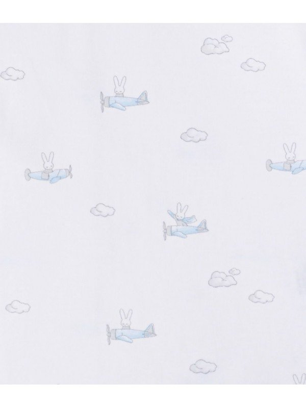 Одеяло Bunny Airplane Blanket Blue