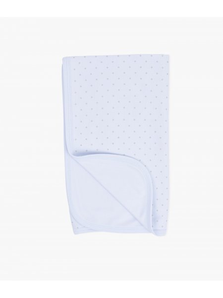 Одеяло Saturday Blanket Blue / Silver Dots