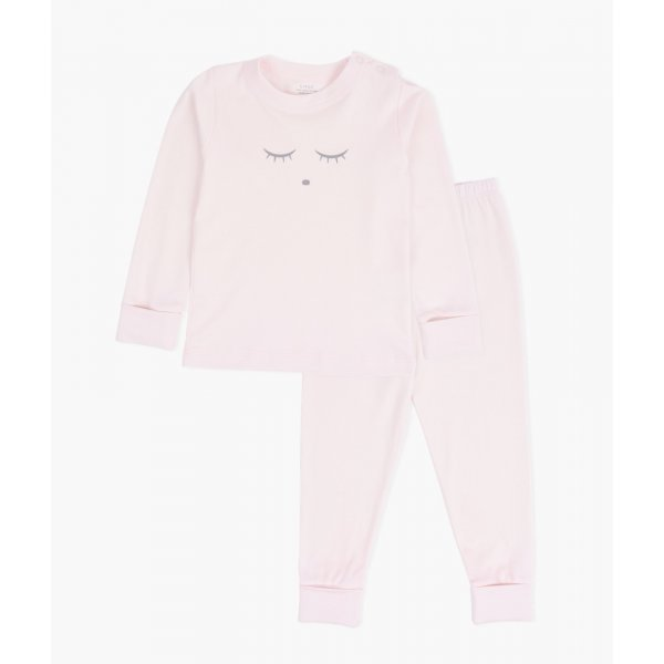 Пижама Sleeping Cutie 2 Piece PJ Pink / Grey