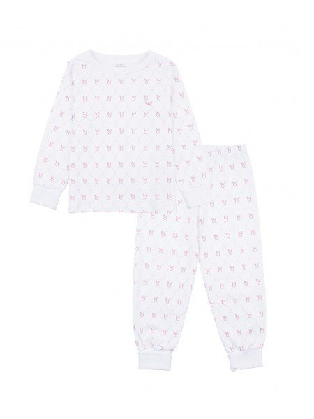 Пижама Diamond Ribbon Bunny 2 Piece Set Pink