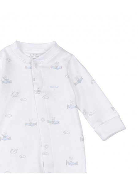 Комбинезон Bunny Airplane Overall Blue