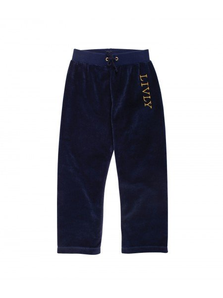Штаны Velour Pants Navy