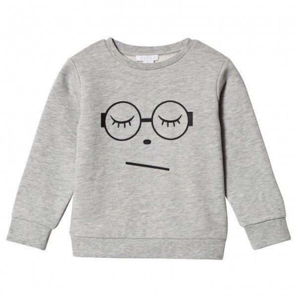 Свитшот Sleeing Cutie Glasses Sweatshirt Grey