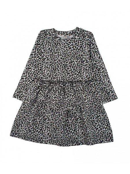Платье Lea Dress Vintage Leo Light Grey