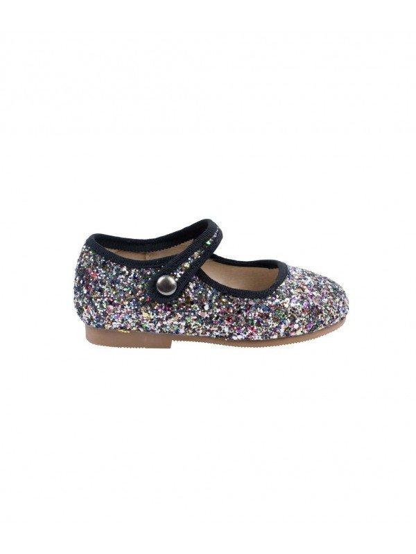 Туфли Mary Jane Shoes Mixed Glitter