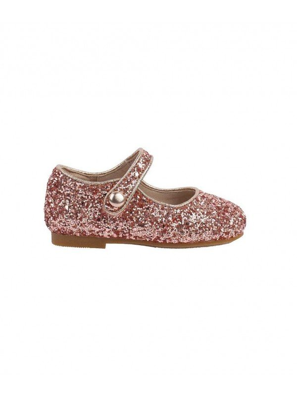 Туфли Mary Jane Shoes Rose Pink Glitter