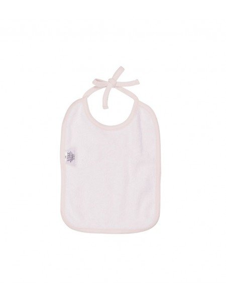 Слюнявчик Sleeping Cutie Tie Bib Pink / Grey